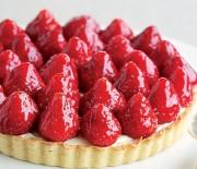 Υπέροχη τάρτα φράουλας