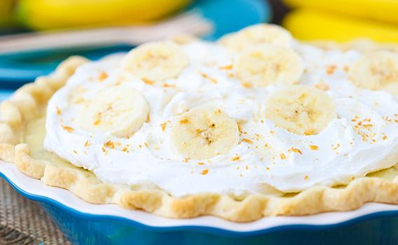 Τάρτα μπανάνα