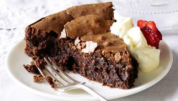 Κέικ σοκολάτας φουντουκιού χωρίς αλεύρι