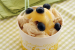 Frozen yogurt με λεμόνι και μπισκότο