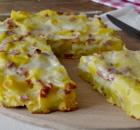 Πατάτες με ζαμπόν στο φούρνο