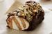 Εύκολος κορμός με σοκολάτα και κρέμα