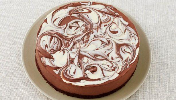 Cheesecake σοκολάτας χωρίς ψήσιμο