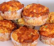 Πιτσάκια muffins (Video)