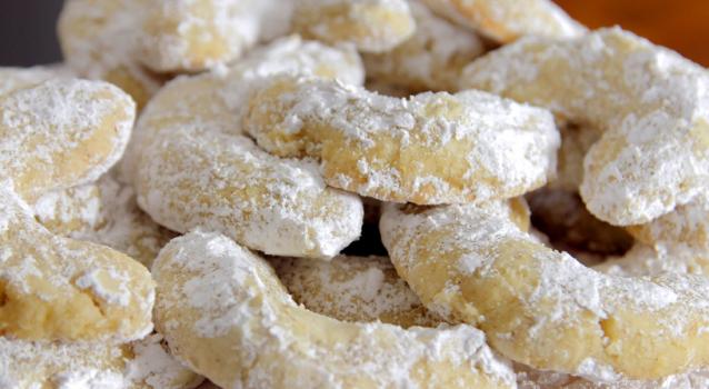 Μπισκότα αμυγδάλου με βανίλια (Video)