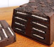 Σοκολατένιος κορμός ψυγείου με oreo, με 4 μόνο υλικά (Video)