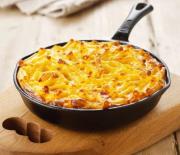 Πένες με τυρί στο φούρνο