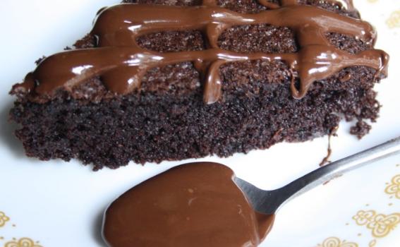 Σοκολατένιο κέικ με ελαιόλαδο