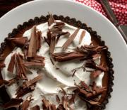 Τούρτα σοκολάτας με επικάλυψη κρέμας τυριού, χωρίς ψήσιμο