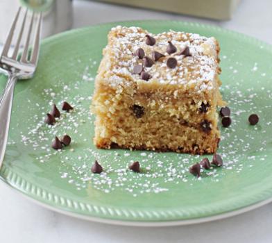 Εύκολο κέικ με σταγόνες σοκολάτας