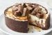 Cheesecake με σοκολάτα Mars και σως καραμέλας και σοκολάτας