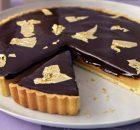 Υπέροχη τάρτα καραμέλας με σοκολάτα