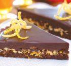 Τάρτα σοκολάτας με αμύγδαλα