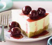 Cheesecake λευκής σοκολάτας με ζαχαρούχο γάλα χωρίς ψήσιμο
