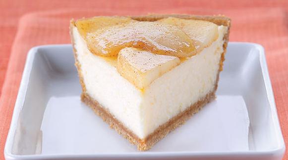 Cheesecake μήλο και κανέλα