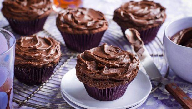 Τα τέλεια σοκολατένια muffins