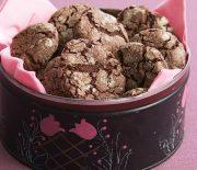 Υπέροχα σοκολατένια cookies με πραλίνα φουντουκιού