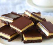 Γλύκισμα με cookies, καραμέλα και σοκολάτα