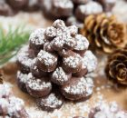 Κουραμπιέδες με σοκολάτα και φουντούκια
