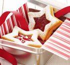 Χριστουγεννιάτικα αστεράκια μελιού με γέμιση μαρμελάδα