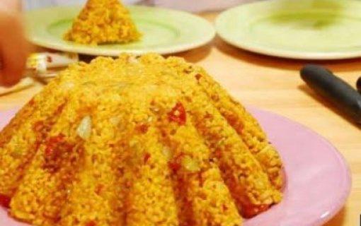 Ρύζι με κάστανα και ξηρούς καρπούς