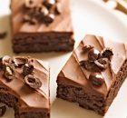 Υγρό μπράουνις σοκολάτας με άρωμα καφέ