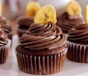 Υπέροχα cupcakes με μπανάνα και νουτέλα (Video)