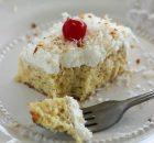 Το τέλειο υγρό κέικ με ινδική καρύδα και ζαχαρούχο γάλα