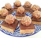 Σοκολατένιο γλυκό ψυγείου με σοκολάτα Cadbury και Ferrero Rocher