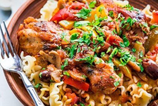 Υπέροχο κοτόπουλο κατσιατόρε στο φούρνο (Video)