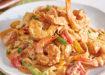 Γαρίδες με φετουτσίνι σε πικάντικη κρεμώδη σάλτσα