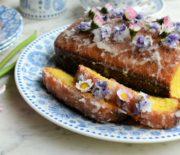 Πανεύκολο κέικ λεμονιού με λεμονάτο γλάσο