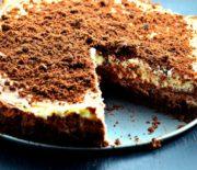 Υπέροχο Cheesecake με νουτέλας χωρίς ψήσιμο