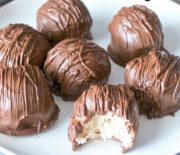 Σοκολατάκια με γέμιση cheesecake με 5 μόνο υλικά (Video)
