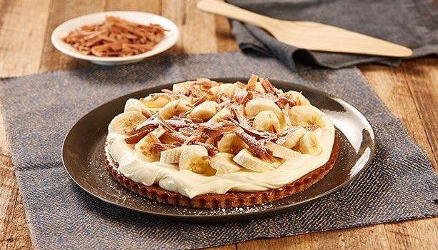 Πανεύκολη τάρτα καραμέλας με μπανάνες, χωρίς ψήσιμο