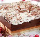 Υπέροχη Εκμέκ σοκολατόπιτα ψυγείου