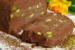 Παγωμένος κορμός (σεμιφρέντο) με σοκολάτα και φιστίκια Αιγίνης