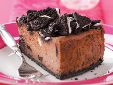 Υπέροχο σοκολατένιο cheesecake oreo