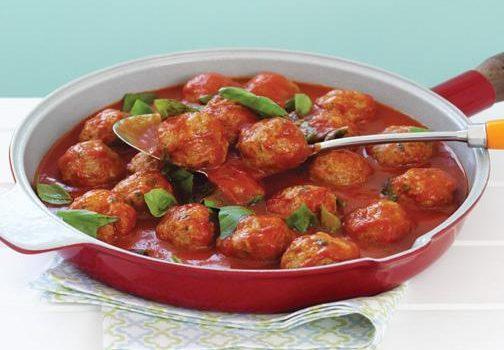 Σουτζουκάκια κοτόπουλου στο φούρνο