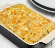 Πέννες με τυρί στο φούρνο