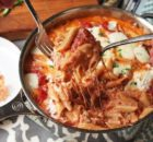 Πέννες με κιμά και τυριά στη κατσαρόλα