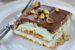 Εκλέρ ψυγείου με μπισκότα και φιστίκια Αιγίνης