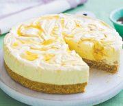 Παγωμένο cheesecake με μέλι και ξηρούς καρπούς