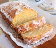 Κέικ καρύδας σιροπιαστό