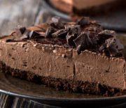 Το απόλυτο σοκολατένιο cheesecake ψυγείου