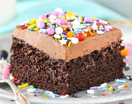 Πανεύκολο υγρό κέικ σοκολάτας