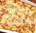 Ψωμί με αυγά τυρί και ζαμπόν στο φούρνο (Video)