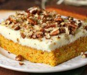 Πανεύκολο κέικ καρότου με επικάλυψη κρέμας τυριού