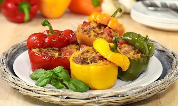 Οι τέλειες γεμιστές πιπεριές (Video)