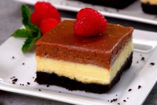 Υπέροχο cheesecake με όρεο και νουτέλα